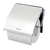 Brabantia Toilet Roll Holder - Brilliant Steel