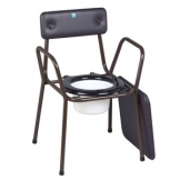 Stackable Commode - Brown