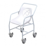 Mobile Shower Chair With Locking Castors