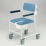 Shower Commode Chair - Gap Front Seat