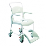 Clean Shower Commode Chair Standard Height