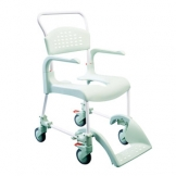 Clean Shower Commode Chair, High Height