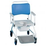 Commode & Shower Chair Bariatric With Footrests