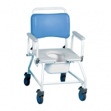 Commode & Shower Chair Bariatric Without Footrests