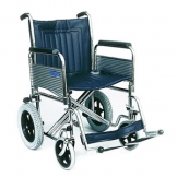Heavy Duty Attendant Propelled Wheelchair, Det Arms & Footrests - 20""