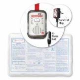 Ramblegard Seatgard Wireless Nurse Call Alarm Mat System with Mono/Stereo Dual Adaptor