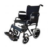 GCL Attendant Propelled Wheelchair, Det Arms & Footrest 18""