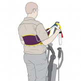 Active Fit Sling Polyester Medium (Standing), 200kg SWL