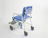 "Atlantic Bariatric Mobile commode SC with Footrest (20"")"