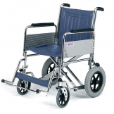 "Bariatric Transit wheelchair det.arms - 51cm (20"")"