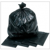 Extra Heavy Duty Black Sacks - GWH2 (200)