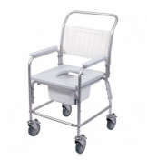 Aluminium Commode & Shower Chair