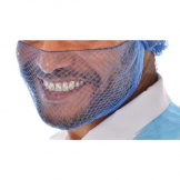 Beard Snood Light Blue Pk50