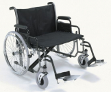 "Bariatric Wheelchair det.arms swing away F/rests 66cm (26"")"