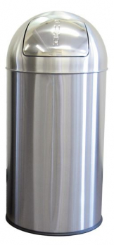 50L Push Bin SS Matt finish