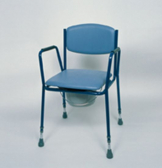 Adj .Ht Stacking Commode