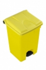 Clinical waste bin 45L- Yellow