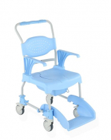 Aqua Shower/Commode Chair - Closed Soft Seat