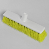 "12"" Hygiene Broom Head - Soft - Yellow"