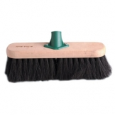 12 Soft Black Coco Broom Head