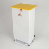 Enclosed Sack Holder, 70 Ltr - Pedal Operated - Clinical Waste