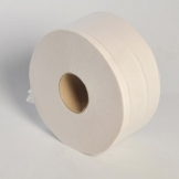 2 Ply White Mini Jumbo Toilet Roll x 12