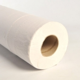 "2 Ply White 20"" Couch Hygiene Roll X 9"
