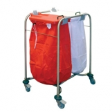 Medicart - 2 Bag - With White And Red Lids
