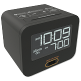 Charging LCD Alarm Clock (Pack of 4)