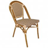 Bolero Continental Bistro Wicker Side Chairs 890mm (Pack of 4)