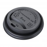 Fiesta Green Compostable Hot Cup Lids 225ml / 8oz x 1000 (Pack of 1000)