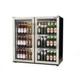 Autonumis EcoChill Double Hinged Door 3ft Back Bar Cooler St/St Door A215196