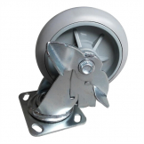 Jantex Spare Braked Castors for Housekeeping Trolley