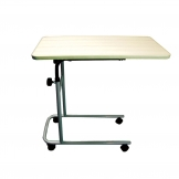 Overbed Easy Tilt Table With Wheels