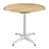 Bolero Ash Top Table Round 800mm