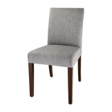 Bolero Chiswick Dining Chairs Charcoal Grey (Pack of 2)