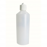 500ml Bottle and Nozzle for Toilet Cleaner or Washing Up Liquid