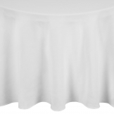 Occasions Round Tablecloth White 2300mm
