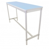 Gopak Enviro Indoor Pastel Blue Rectangle Poseur Table 1200mm