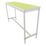 Gopak Enviro Indoor Bright Green Rectangle Poseur Table 1200mm