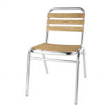 Bolero Ash Bistro Side Chair (Pack of 4)