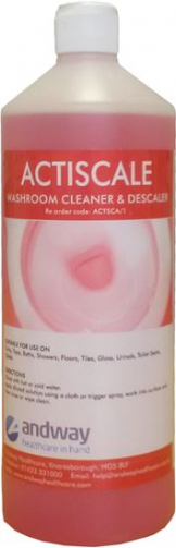 ACTISCALE Washroom Descaler 1L X 4