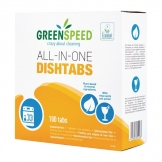 Greenspeed All-in-One Dishwasher Tablets (5 x 100 Pack)