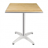 Bolero Ash Top Table Square 600mm
