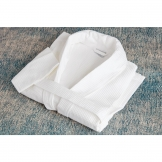 Mitre Comfort Langley Bathrobe White Extra Large