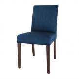 Bolero Chiswick Dining Chairs Royal Blue (Pack of 2)