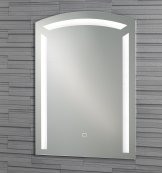 Wall Mounted Barbican Illuminated Bathroom Mirror