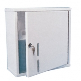 Lockable Reagents Cabinet 420H x 420W x 170D Stainless Steel