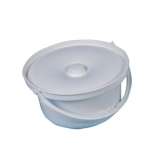 Standard Commode Pot With Lid