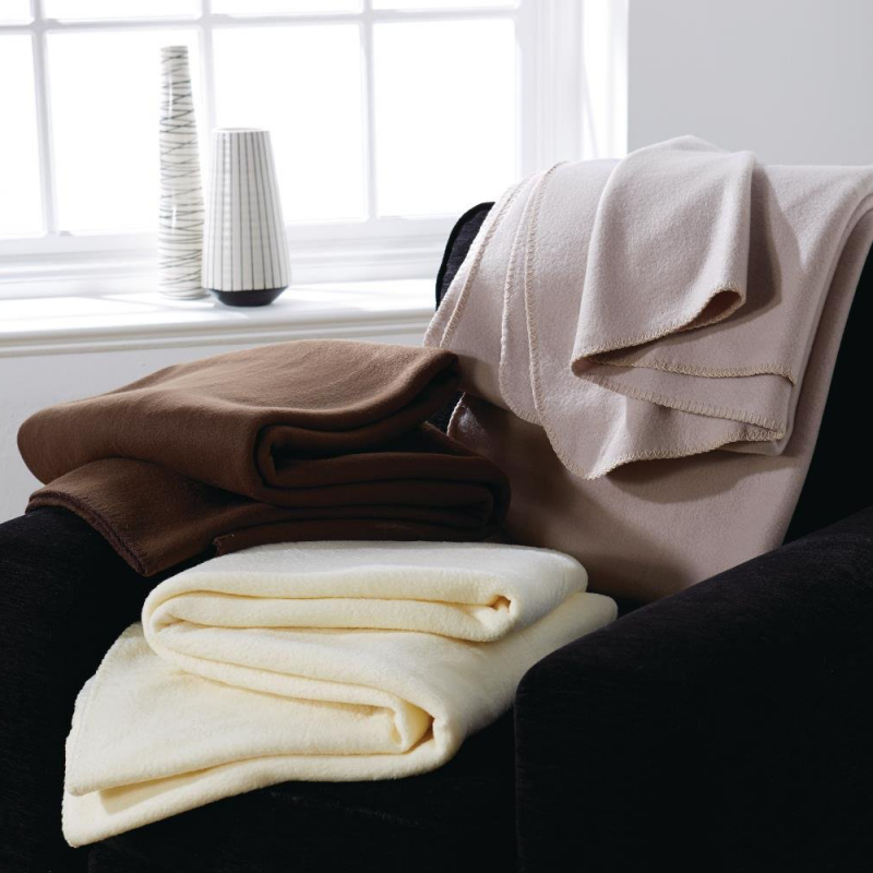 Essentials Polar Blanket Camel - Single